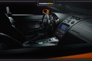 Lamborghini Gallardo Fahren - Innenraum Aufnahme