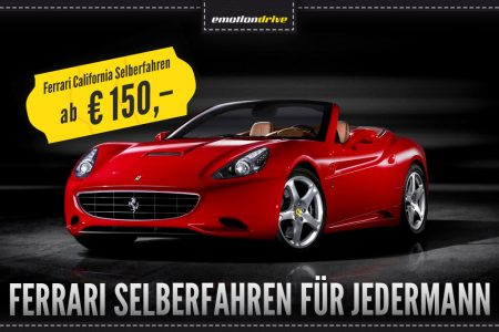 Ferrari California Selberfahren