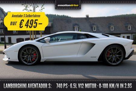 Lamborghini Aventador Fahren
